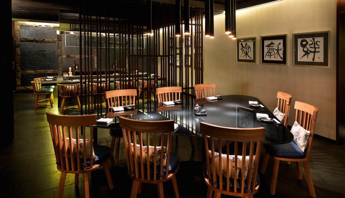 Tatsu japanese restaurant at intercontinental kl blu