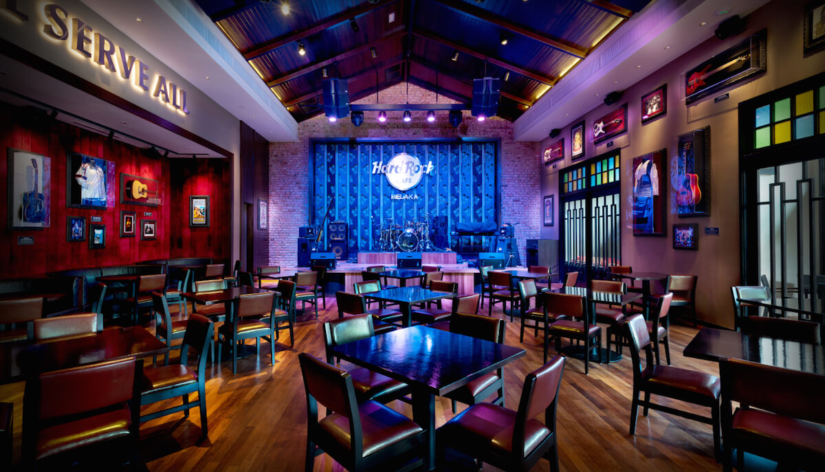 Hard Rock Cafe Melaka Blu Water Studio