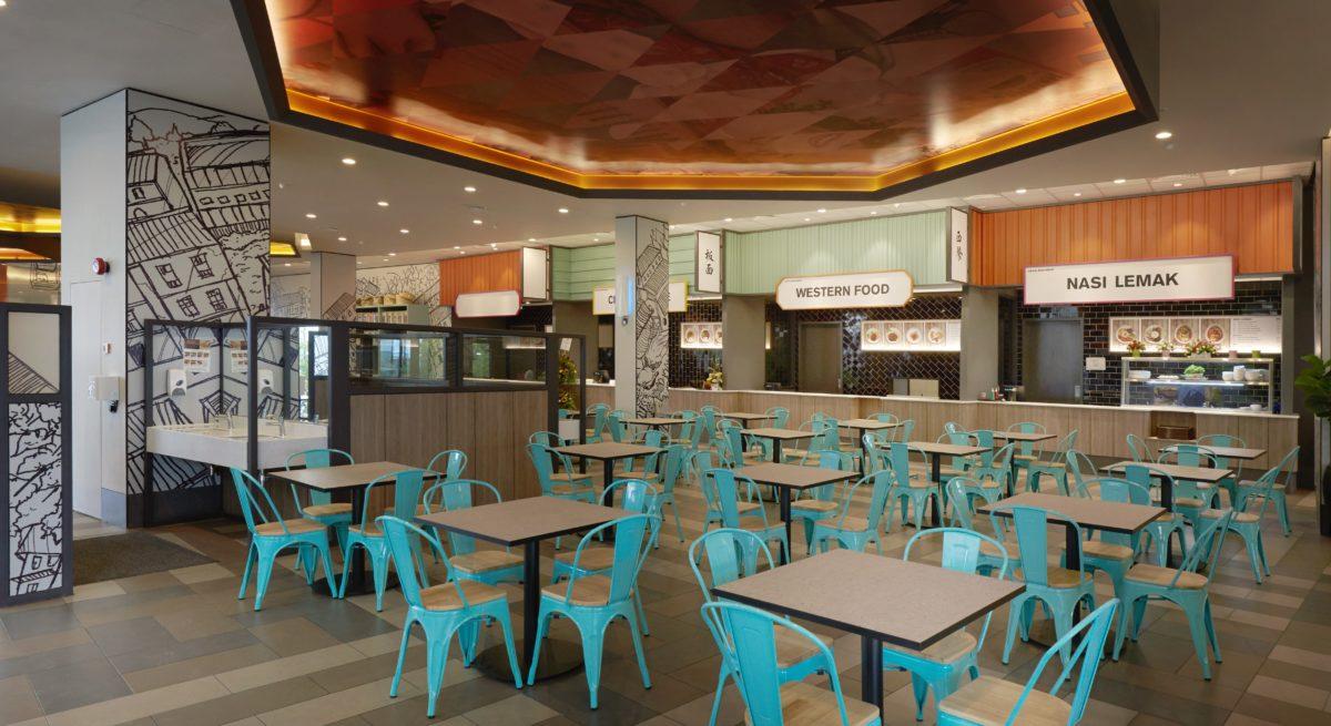 Design Village Foodcourt, Penang - Blu Water Studio
